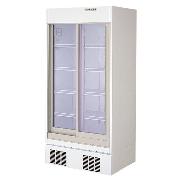【業務用 冷蔵ショーケース】フクシマ幅900  [ 容積:573L・単相100V ] MSS-30GWSR8 W900×D650×H1900(mm)