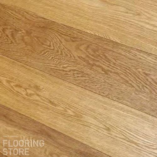 【 オーク 】 オーク 複合 無塗装 巾 148mm×厚さ 15mm×長さ 1820mm ☆ナチュラル色 【 送料無料 】 フローリング 床材 フローリング材 床