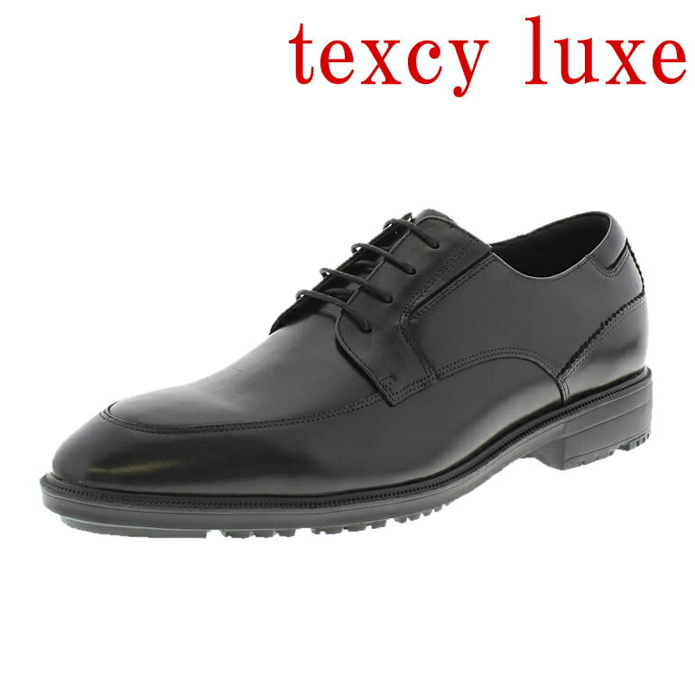 texcy luxe 靴 テクシーリュクス 革靴 紳士靴 メンズ 男性用/TU-7791-008 [本革 ビジネスシューズ ビジネス 革 本革ビジネス 靴 革靴 黒 ブラック 定番 おすすめ 紳士 メンズ シューズ]