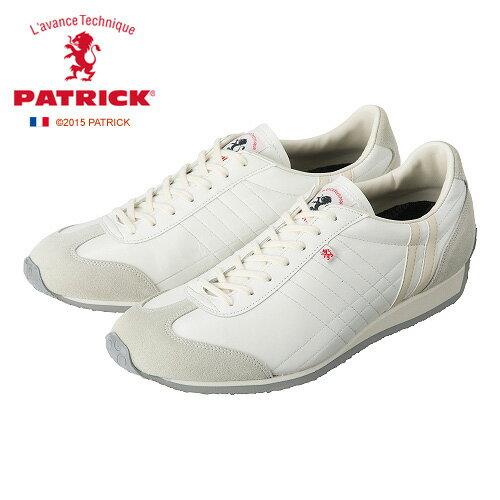 送料無料 PATRICK IRIS SHELL パトリック アイリス メンズ レディース スニーカー ホワイト WH