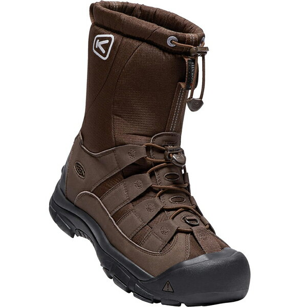 【SALE 30%OFF】[メンズ] KEEN Winterport 2 キーン ウィンターポート ツー 防水ウィンター ブーツ Demitasse/Slate Black