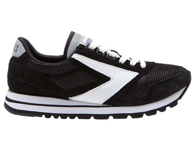 ブルックス BROOKS - <レディース>ヘリテージ チャリオット Women's HERITAGE CHARIOT 036 ジェットブラック/ホワイト black/white ランニング RUNNING 【smtb-m】