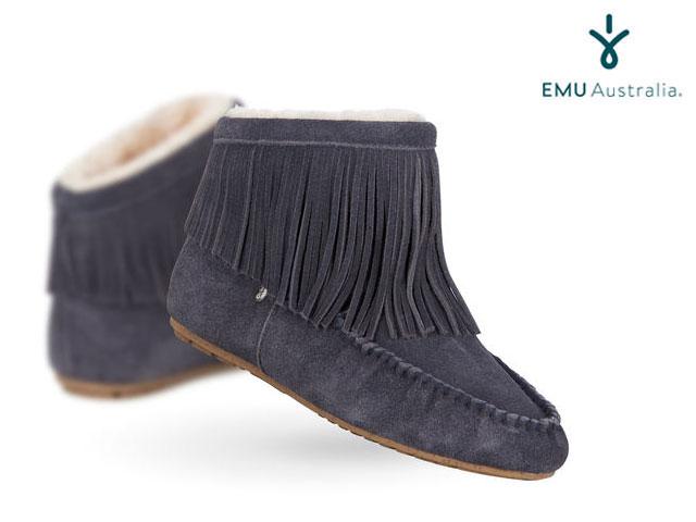 【国内正規品】 emu australia - <レディース> カヨテ INDIGO インディゴ Women's CAYOTE エミューオーストラリア シープスキンブーツ 【smtb-m】