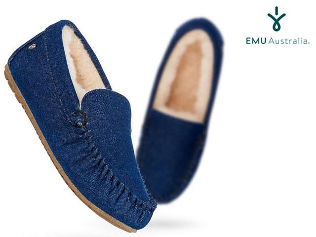 【国内正規品】 emu australia - <レディース> ケアンズ デニム INDIGO DENIM インディゴ デニム Women's CAIRNS DENIM shoes シューズ エミューオーストラリア 【smtb-m】