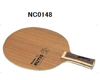 ニッタク 卓球ラケット ルーテイスC 硬質で薄めのブレードにGカーボンを搭載♪ NC0148