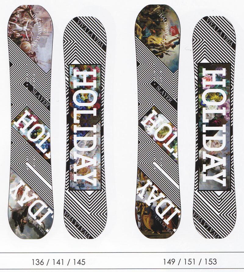HOLIDAY ホリデー SLAYER 2016-2017モデル holiday snowboard ホリデースノーボード【smtb-f】スポーツ・アウトドア ウインタースポーツ スノーボード 板 その他 【あす楽】