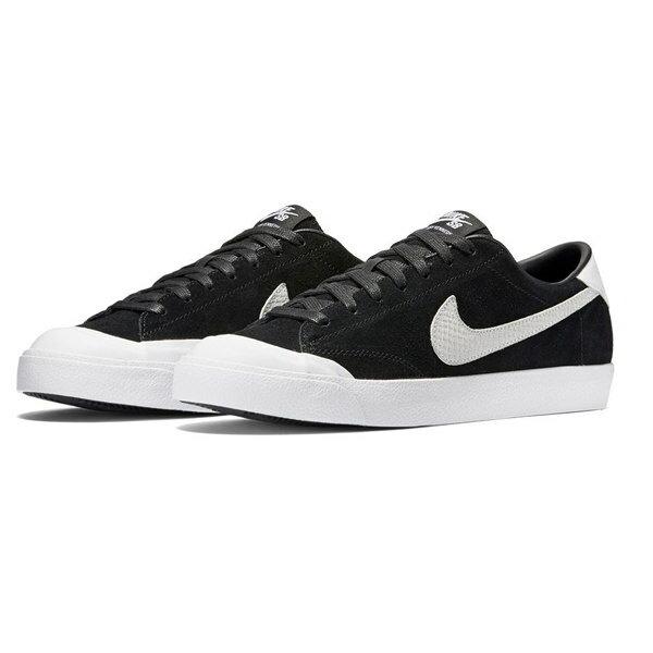ナイキ NIKE ZOOM ALL COURT CK BLACK/WHITE 靴 メンズ靴 スニーカー ナイキ nike sb スケシュー