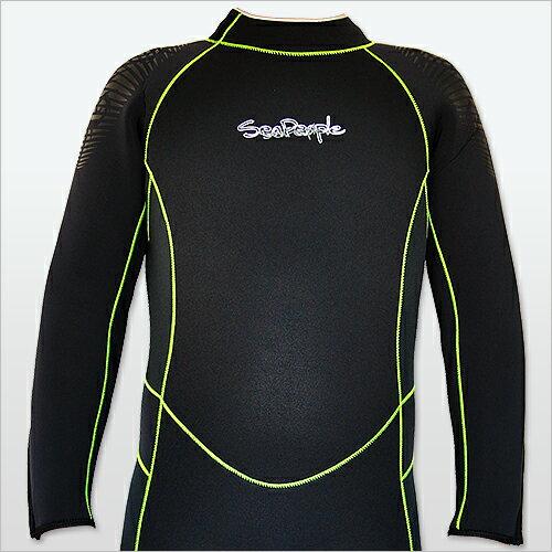 安価な価値とともに、 ウェットスーツ 5mm ダイビング 【SEAPEOPLE メンズ 5mmウェットスーツ 両面ジャージ15】