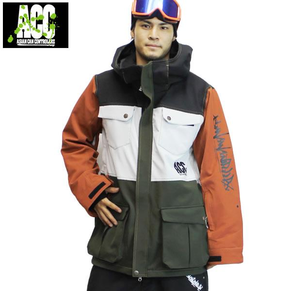 17-18 ACC ジャケット ADMIRE JKT: Admire Mix 正規品/スノーボードウエア/ウェア/メンズ/snow