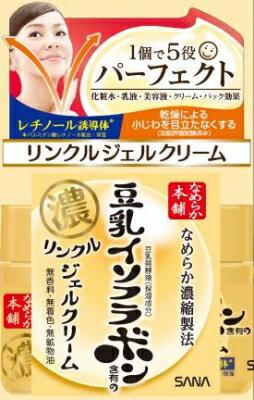 常盤薬品 なめらか本舗 豆乳イソフラボンのリンクルGクリーム 100g×36個   【送料無料】
