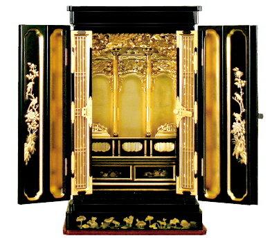 仏壇 ミニ仏壇 金仏壇 上置き仏壇 小型仏壇菩提樹 浄土真宗:西・東