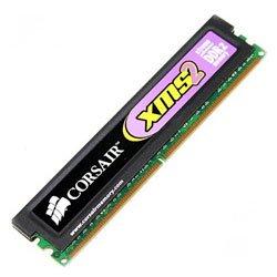 【Corsair DDR2-800 XMS2-6400 2048MB 2枚1組 5-5-5-18 TWIN2X4096-6400C5 G】