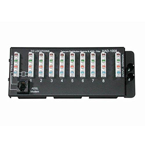 【送料無料】【ケーブルは、DSLフィルタで37010 8ポート110 IDCの電話モジュールを行くために、】     b000o7espm