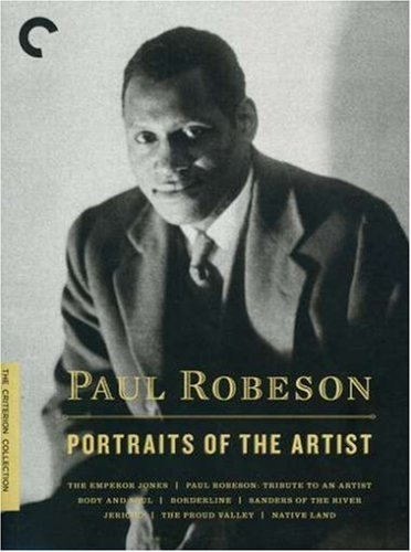 【PAUL ROBESON-PORTRAITS OF AN ARTISTS】     b000krngoa