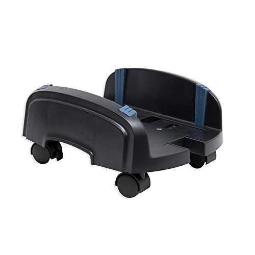 【Syba CPU Computer Plastic Stand for ATX Case with Adjustable Width and 4 Caster Wheels(Sy-Acc65064) (SY-ACC65064) by Syba】 Syba CPU Computer Plastic Stand for ATX Case with Adjustable Width and 4 Caster Wheels(Sy-Acc65064) (SY-ACC65064) by Syba    b009