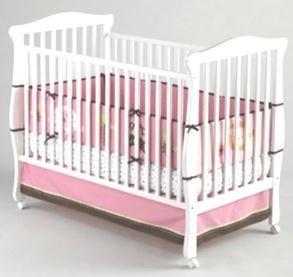 【Little Bedding by NoJo 4 Piece Raspberry Jungle Bumper Set by NoJo】 Little Bedding by NoJo 4 Piece Raspberry Jungle Bumper Set by NoJo    b00arm4xuy