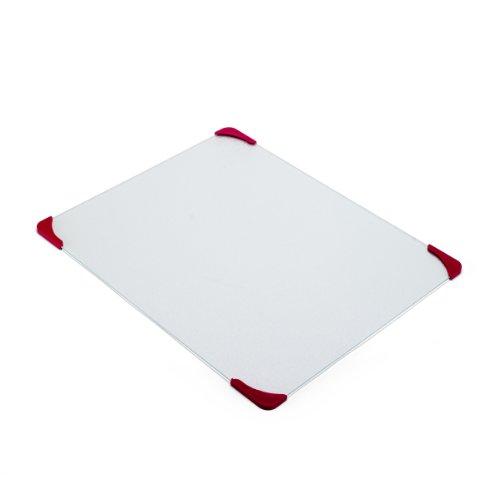 【送料無料】【Farberware Glass Utility Cutting Board with Non-Slip Corners  16-Inch by 18-Inch by Farberware】     b000w4pu90