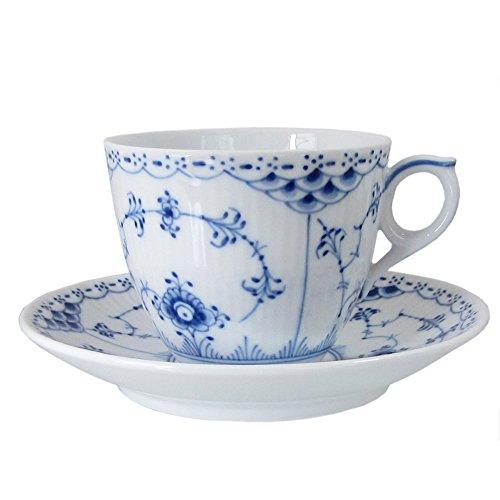 【ロイヤルコペンハーゲン ハーフレース コーヒーカップ ソーサー102-071【並行品】 1102071】     b002ss6nee
