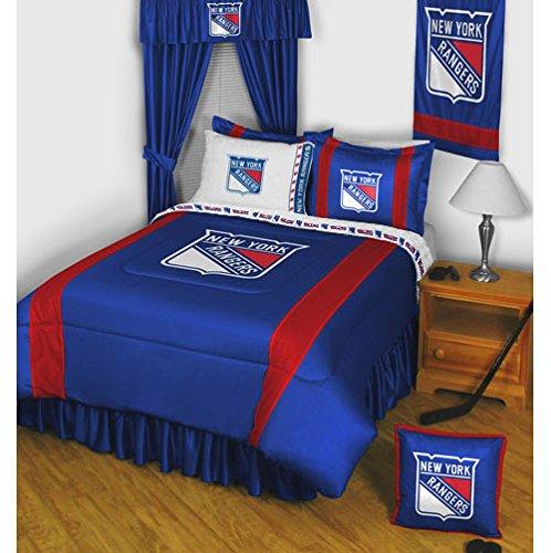 とても上品 【送料無料】【NHL New York Rangers 5pc Bed in aバッグクイーンベッドセット】     b002vklpy2