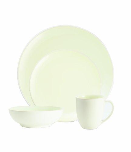 【送料無料】【Noritake Colorwave White 4-Piece Coupe Place Setting by Noritake】     b004p1ieq2