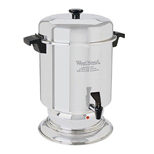 【送料無料】【West Bend 55 Cup Commercial 大型ステンレス コーヒー メーカー [並行輸入品]】     b0043xynna