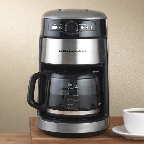 【送料無料】【KitchenAid 14-Cup Silver Coffee Maker by KitchenAid】     b0041fd9qw