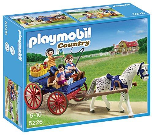 【Playmobil 5226 Horse-drawn Carriage】     b0077qsmxm