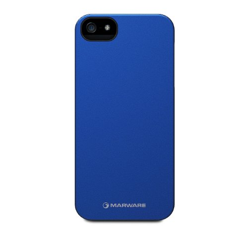 �Marware Microshell Case for Apple iPhone 5 (Blue) - ADMS1016】     b009ablj4g
