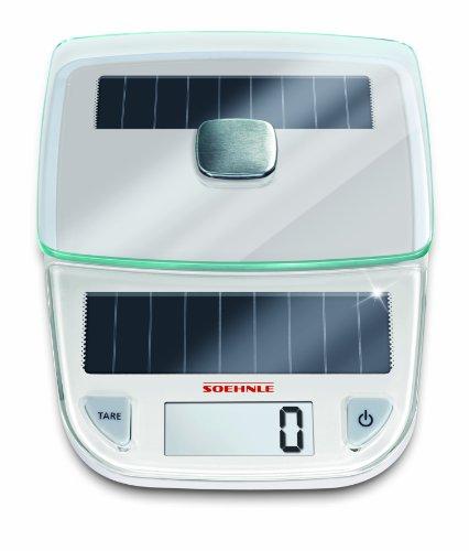 【送料無料】【Soehnle 66183 Easy Solar blanc】