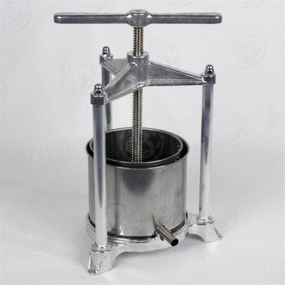 【送料無料】【Fruit Press - Italian  3 Liter  Stainless Steel by Brewcraft】