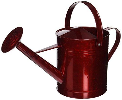 【送料無料】【Austram-グリフィスクリークは800260 1.5ガロン金属じょうろ赤のデザイン】