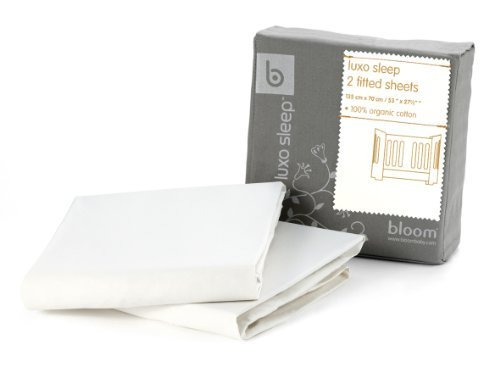 �Bloom Alma Fitted Sheets Coconut White by Bloom [並行輸入�]】     b00w2x0yh2