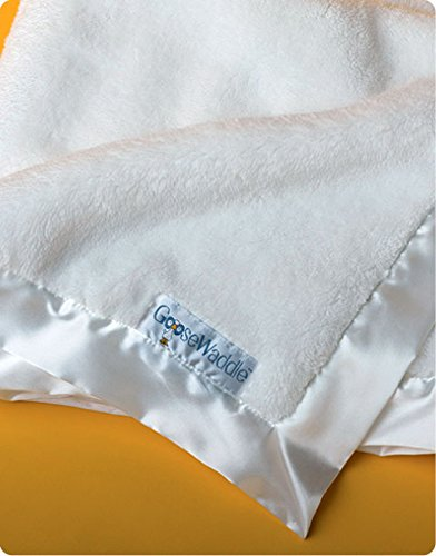 �GooseWaddle Luxurious Classic Plush Baby Blanket  White by GooseWaddle [並行輸入�]】     b00sg714jk