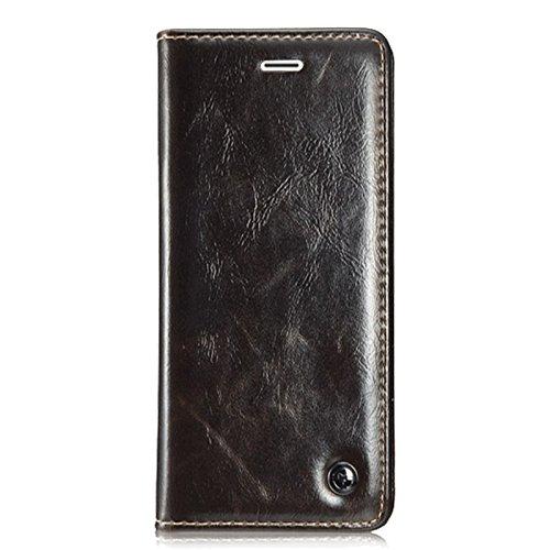 【送料無料】【Iphone 6s Plus Case   Luxury Wallet Flip Leather Case for Iphone 6s Plus (brown) by Case Mall】     b0170k28e8