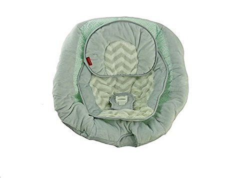 【Fisher Price Cradle n Swing Replacement Pad (CMR40 Teal Surrounds Cradle Swing Pad) by Fisher-Price】     b01ey4qjr0