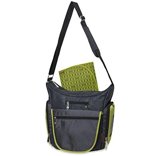【Fisher-Price Deluxe crossbody hobo diaper bag by Fisher-Price】     b01exkt0k8