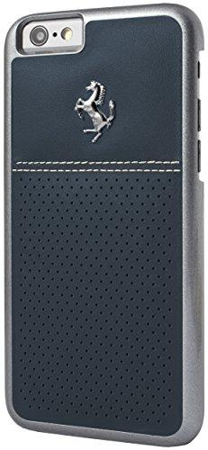 【送料無料】【Ferrari GT Berlinetta Hard Case Perforated Leather for iPhone 6/6S - 4.7 - Blue by Ferrari】     b01auvs9tc
