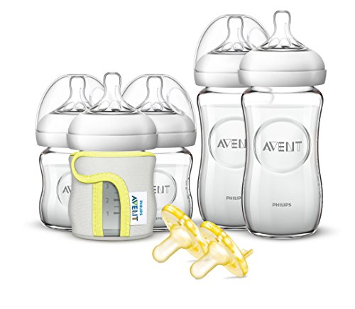【Philips AVENT Natural Glass Bottle Gift Set by Philips AVENT】     b01f76b0x2