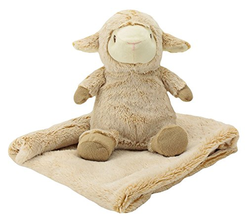 【Animal Adventure Chubblies Blanket Set  Lamb by Animal Adventure】     b01gkzo162