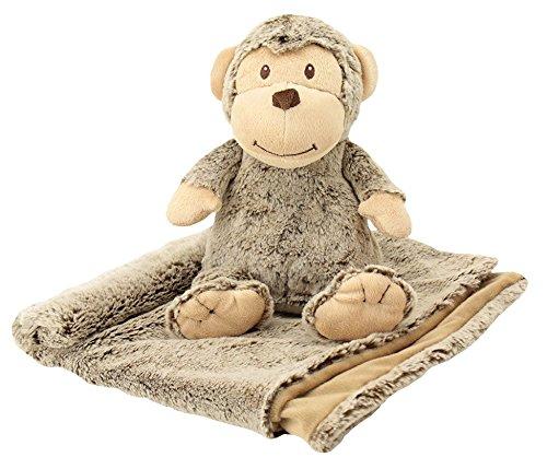【Animal Adventure Chubblies Blanket Set  Monkey by Animal Adventure】     b01gkznv7c