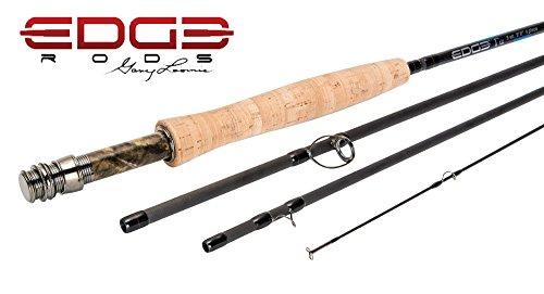 【送料無料】【エッジFly Rods by Gary Loomis 4 wt. 8'6  4 piece Moderate Action Rod】     b01jkp8wuu
