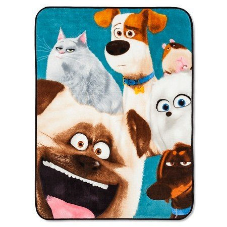 【New Domestic Dog Throw (46x60) Multicolor ets? by Secret Life】     b01kvrfg9g