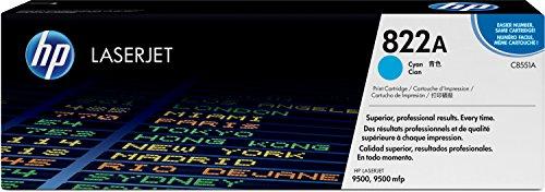 【日本HP 822A 純正LaserJetトナーカートリッジ(シアン)(CLJ9500) C8551A】     b0000cg4ma