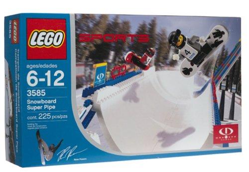 【レゴ スポーツ LEGO 3585 Snowboard Super Pipe  レア物 並行輸入品】