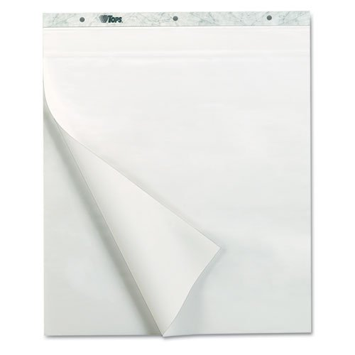 【Tops 79190 NotesPlus Easel Pad Unruled 25 x 30 White Two 30-Sheet Pads Pack】     b000dn8a7y