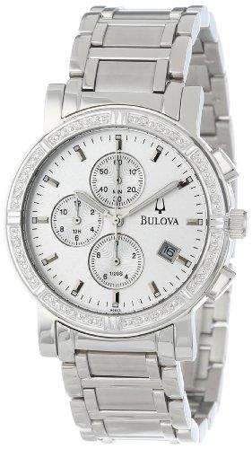 【送料無料】【ブローバMen 's 96e03?Diamond Accented Watch】     b000finoms