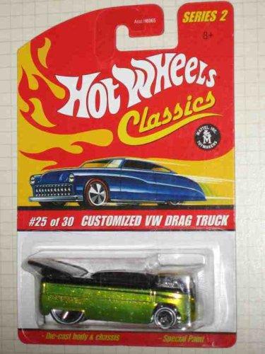 【Classics Series 2 -#25 Customized VW Drag Truck Antifreeze Collectible Collector Car Mattel Hot Wheels 1:64 Scale】     b000u2tl7q