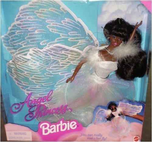 【Angel Princess Barbie African American】     b000v77eb0