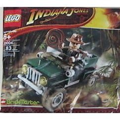 【LEGO Indiana Jones Jungle Cruiser (20004)】     b001d00pgk