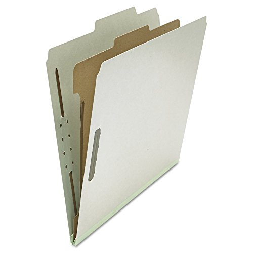 【Pressboard Classification Folder  Letter  Four-Section  Gray  10/Box (並行輸入品)】     b0013ck82y